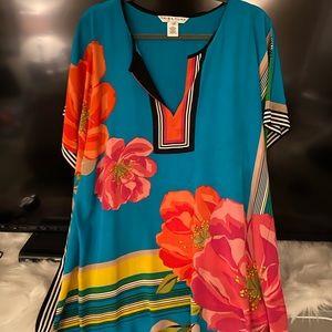 Trina Turk 100% Silk dress!
